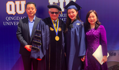 President Rosenberg blogs from China: Qingdao inaugural commencement